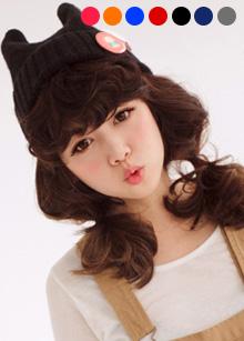<b>Devil Knit Beanie</b> <br> 7 color <br> 12,000 won