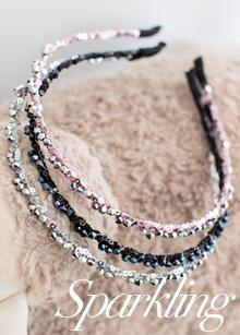 <b>sparkling hairband</b> <br> handmade <br> 10,000 won