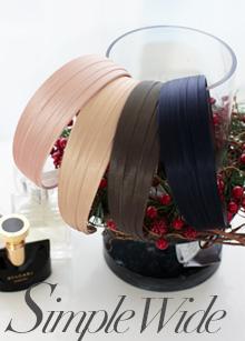 <b>simple wide hairband</b> <br> handmade <br> 6,000 won