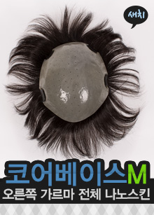 "[Day wear wig] <br> <b>Core base M</b> <br> Right Garma Full Nano Skin <br> Greycolor Level 1 (Swordhead) <span class=""detail_list""><br> Human hair 100% <br> Handmade Whole Finisher</span> <br> <strike>475,000 won</strike> → 427,500 won"
