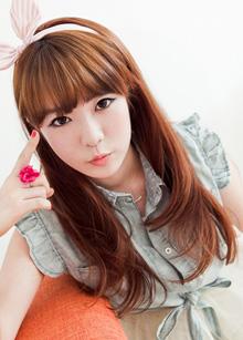 """Half Wig <br> <b>Barbie girl</b> <br> <span class=""""detail_list"""">Superior Yarn / Royal Fuchura Yarn</span> <br> 35,000 won / 45,000 won"""