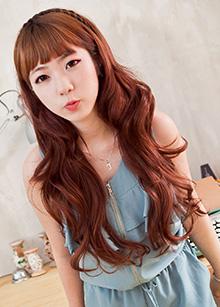 "Half Wig <br> <b>Romantic barbie</b> <br> <span class=""detail_list"">Superior Yarn / Royal Fuchura Yarn</span> <br> 35,500 won / 45,500 won"